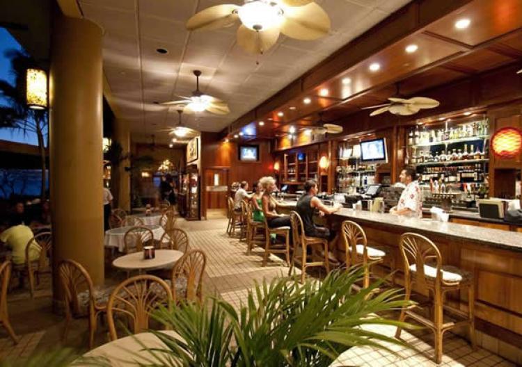 5 Palms Bar Happy Hour - Maui Happy Hours
