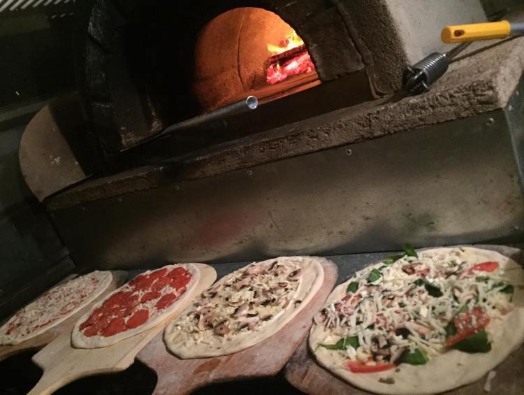 Outrigger Pizza Happy Hour Menu