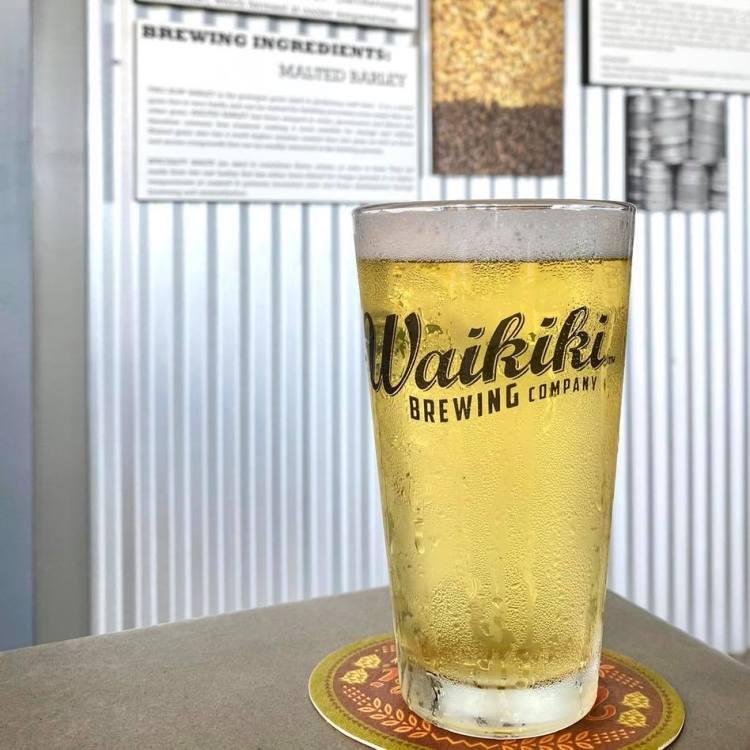 draft beer happy hour waikiki brewing