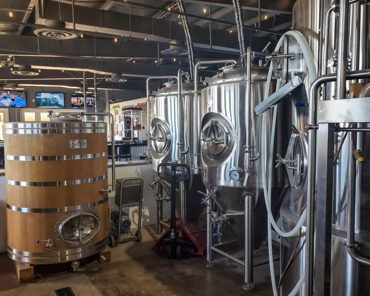 craft beer brewing facility at waikiki brewing lahaina maui hawaii
