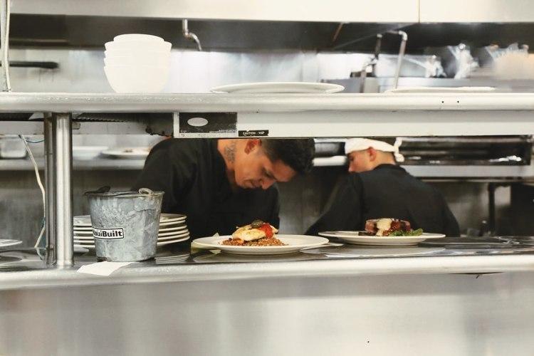 chef at nicks fishmarket - maui happy hour