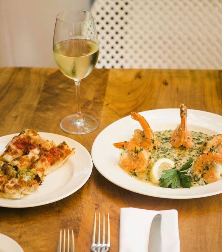 happy hour shrimp entree longhis wailea maui