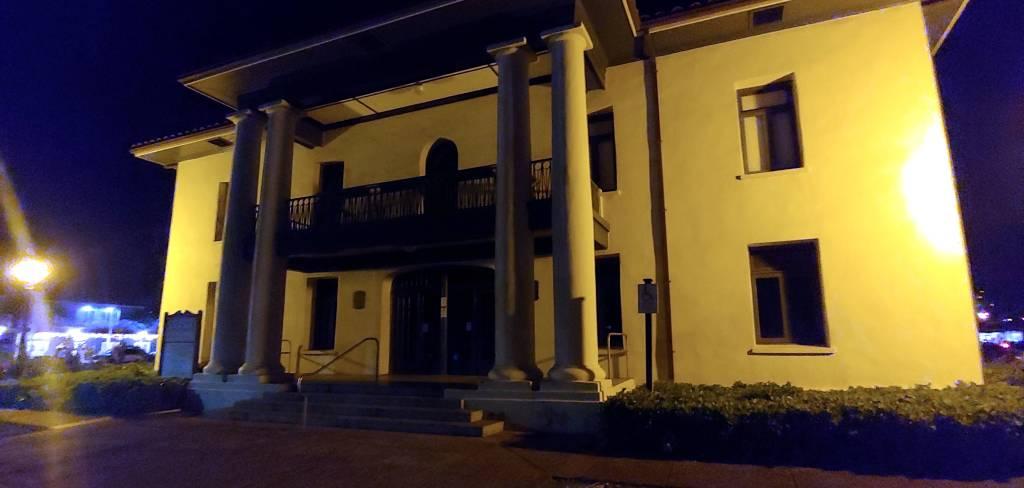 Old Lahaina Courthouse at Night - Maui Hawaii History