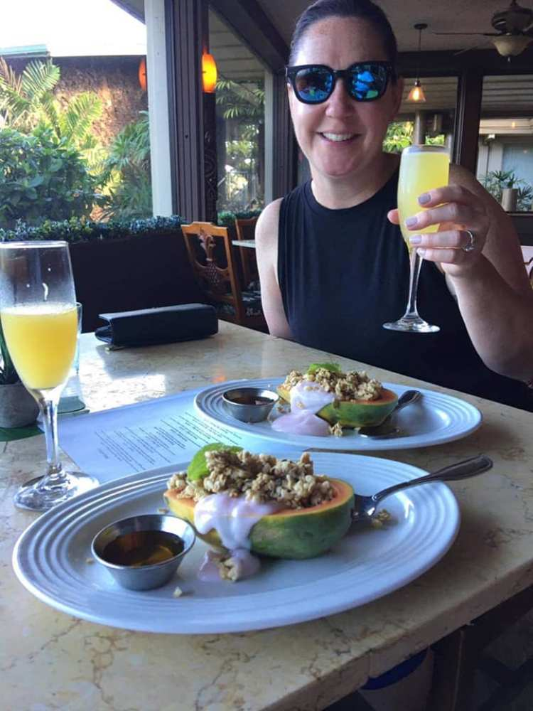 Happy Hour Mimosas with Breakfast in Maui