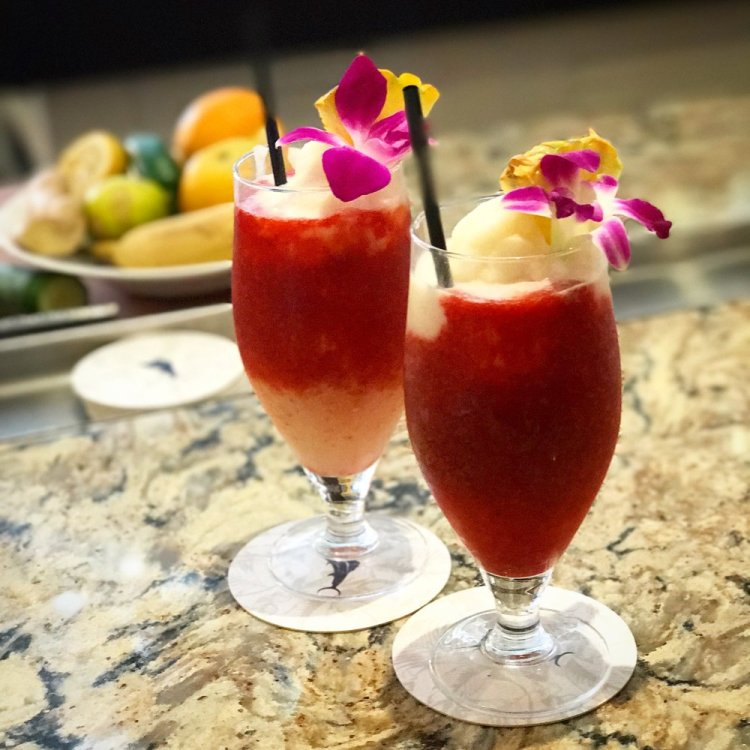 Happy Hour Tropical Cocktails at Monkeypod Kitchen Kaanapali