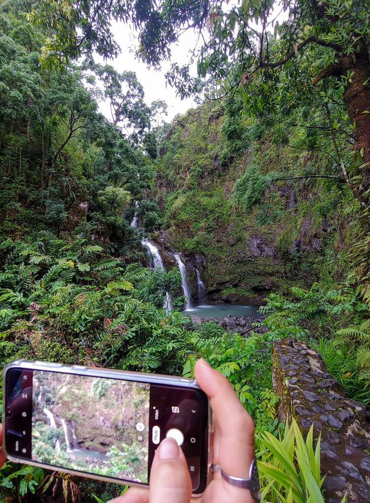 Road to Hana Maui Waterfall - Photo by Russell Snyder 2021 - Maui Discounted Activities and Tours