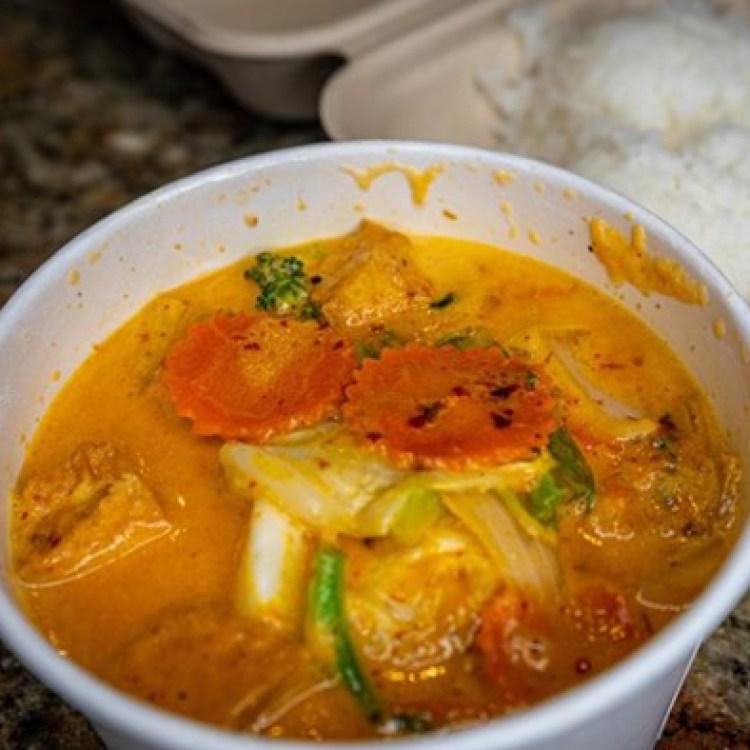 Thai Curry at Aloha Thai Fusion Restaurant Maui