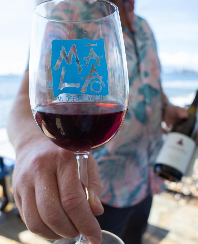 Happy Hour Wine Menu - Wine List at Mala Restaurant Lahaina