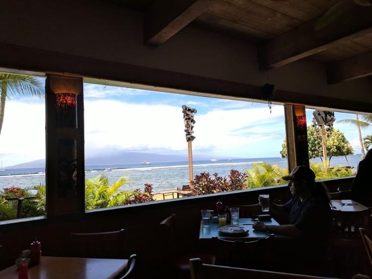 ocean view restaurant lahaina maui