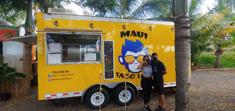 Maui taco loco new Maui food truck