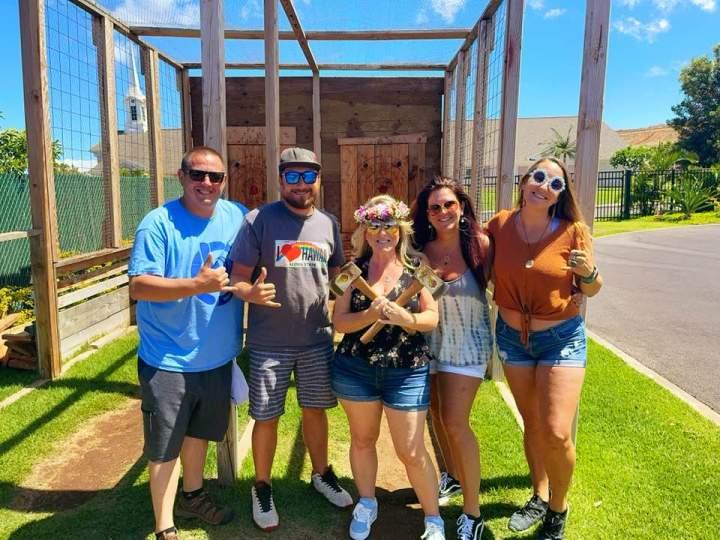 Maui-Happy-Hours-team-Axe-Throwing-at-Maui-Adventure-Park-Lahaina-1