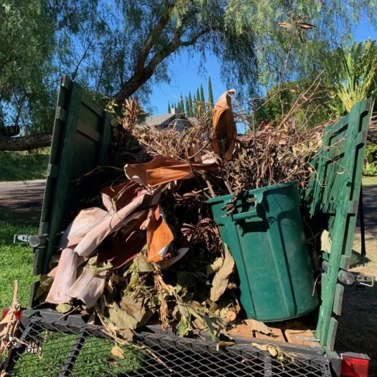 Maui Green Yard Waste Removal Hauling