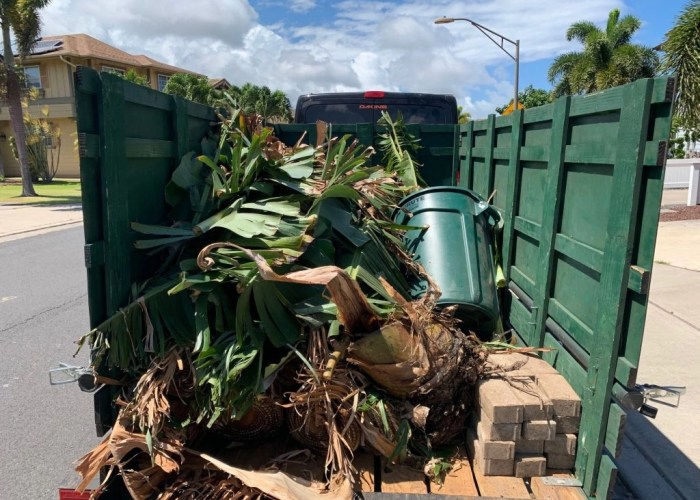 maui green waste landfill hauling removal yard clean up