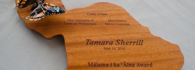 Celebrate invasive species prevention: nominate a Maui County landscaper for the Malama i ka Aina award