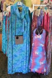 Batik Dresses for Mom and Daughter - Designed by Jeannette on Maui