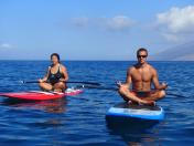 stand up paddle guided tour maui private small group