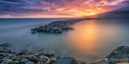 kihei maui sunset photograph