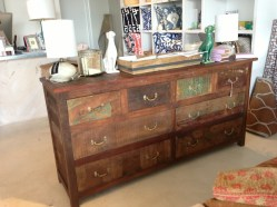 painted distressed dresser vintage chic