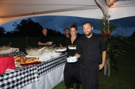 catering by three's bar and grill