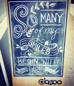 dazoo.chalkboard.art.sign