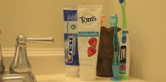 Toothpaste SLS sodium Laurel sulphate