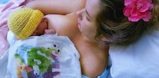 breastfeeding Mauimama newborn