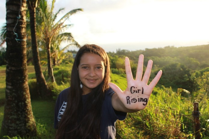 Community girl rising Maui