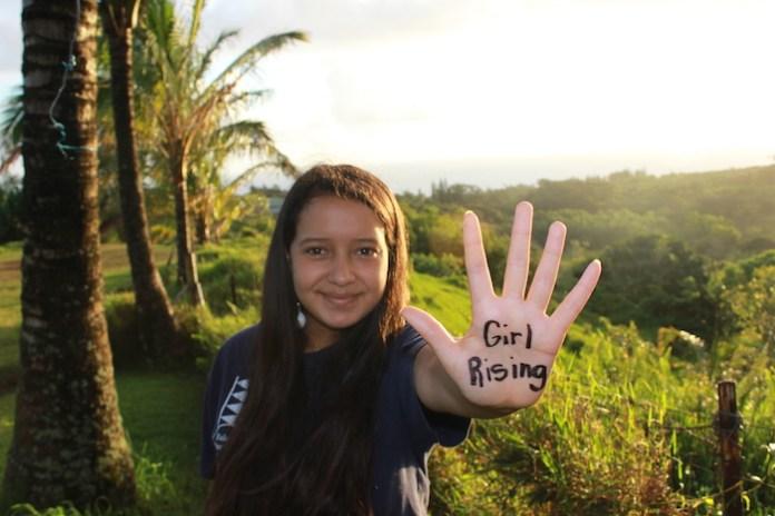 Community girl rising Maui