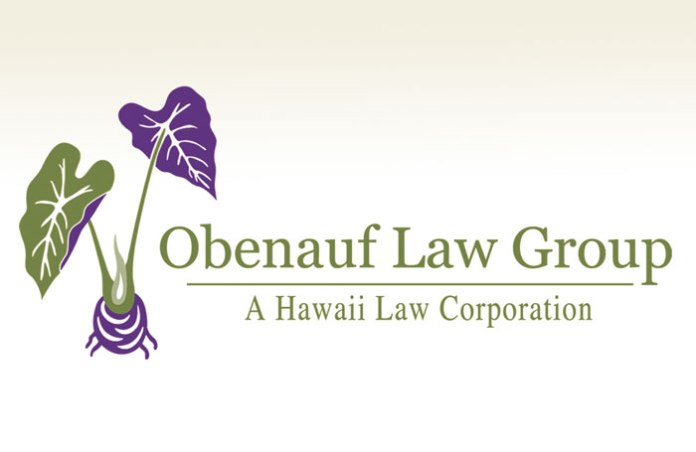Obenauf Law Group Hawaii Law