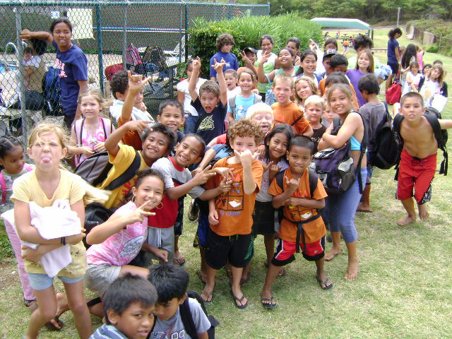 YMCA Youth camp Maui