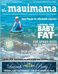 Mauimama front cover issue 1