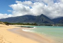 Kaneohe Beach Maui family activity