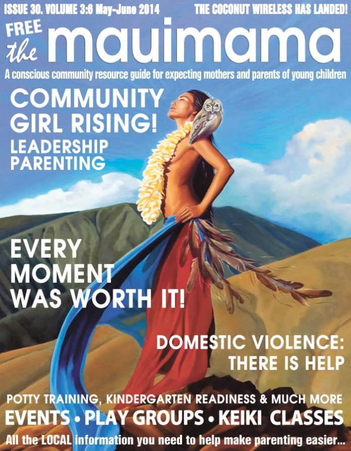 Mauimama front cover issue 30