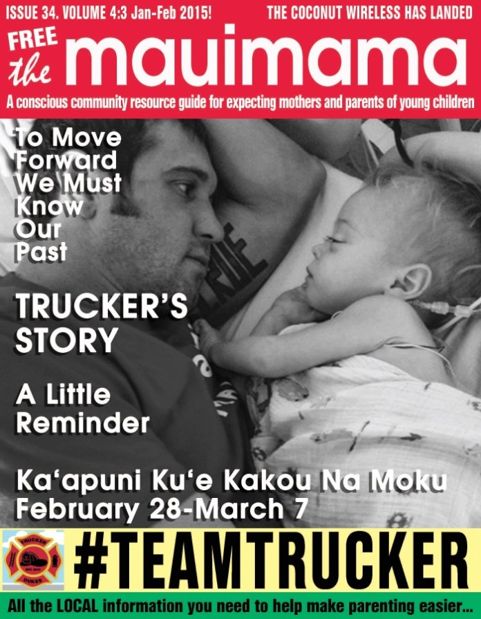 Mauimama front cover issue 34