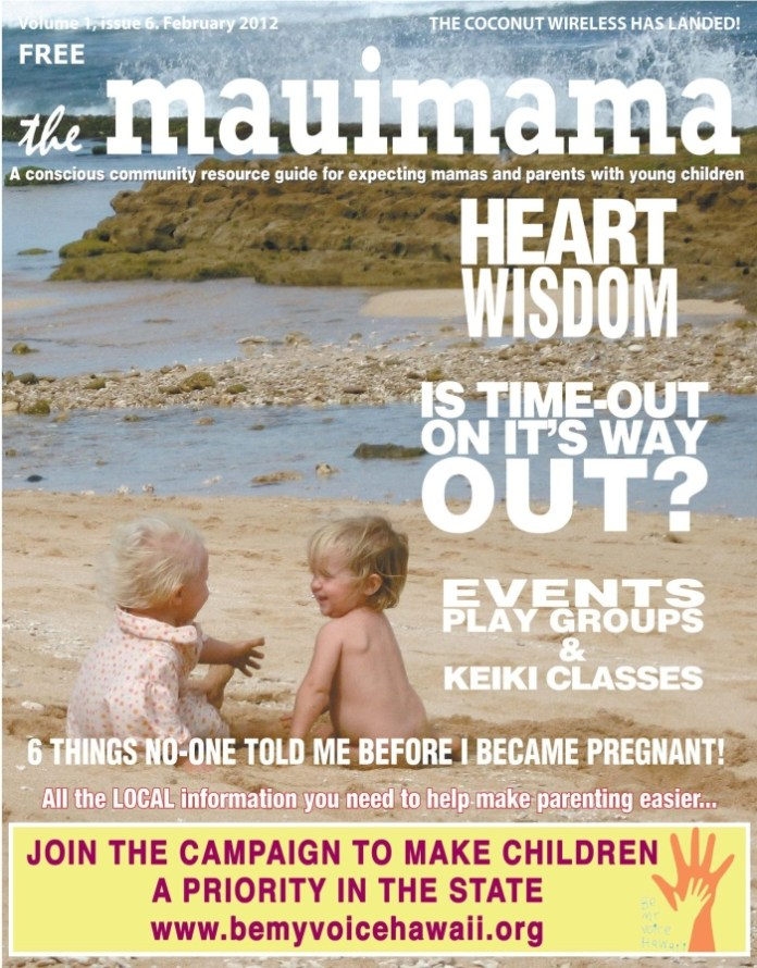 Mauimama front cover issue 6