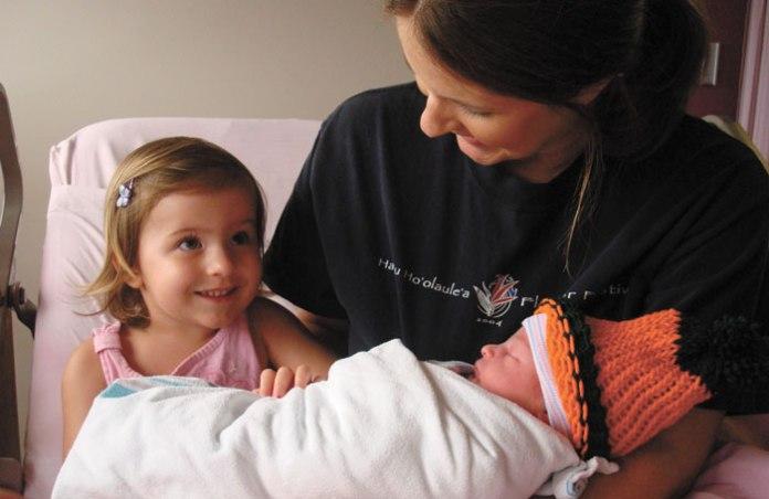 hospital birth Maui birthing story