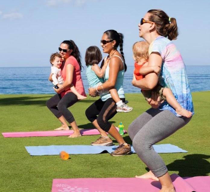 mama mother exercises Maui