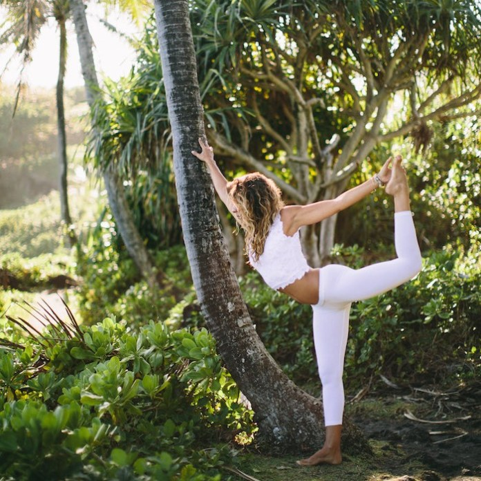 Yoga is everywhere Maui