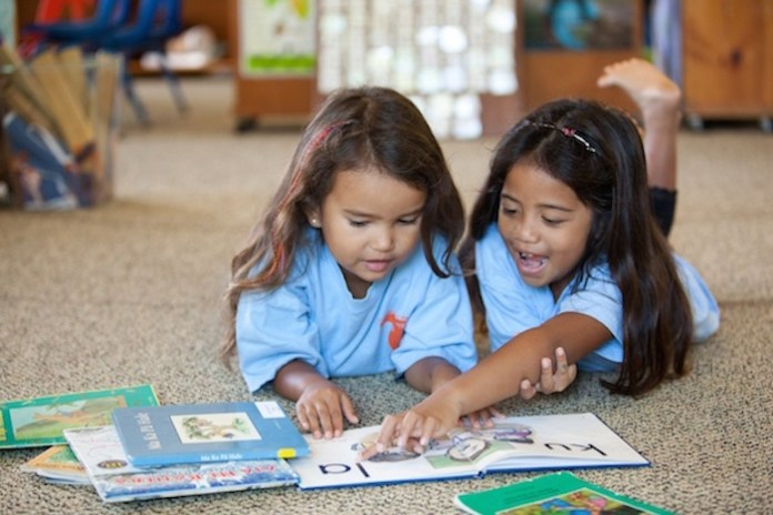 Hawaiian immersion Maui education