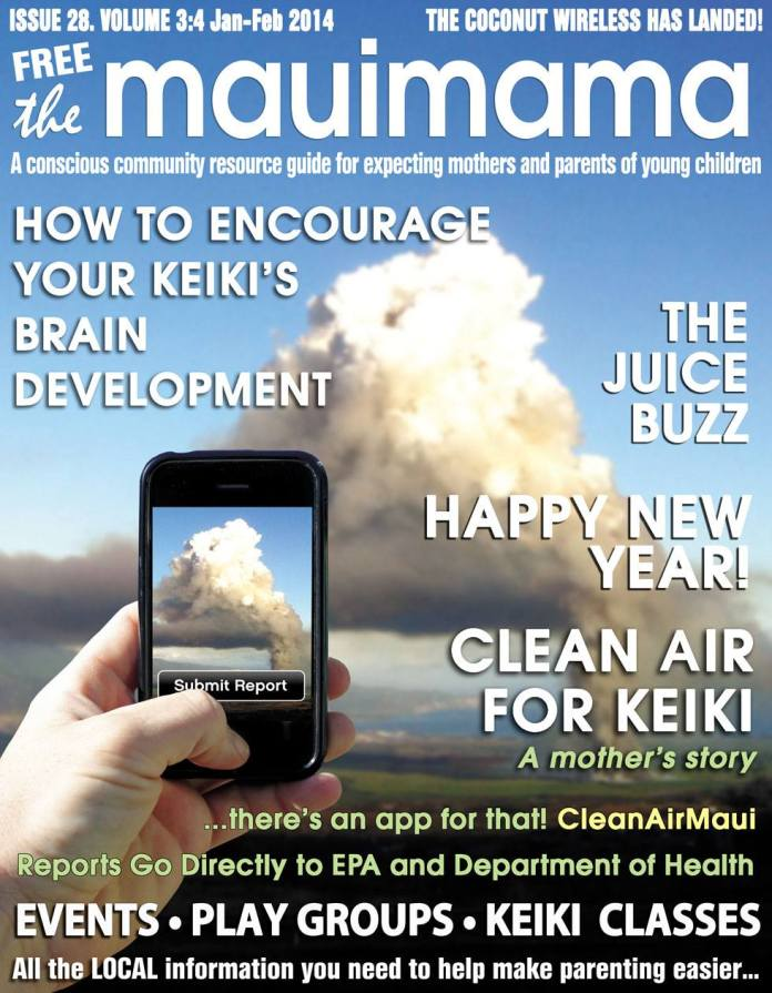 Mauimama front cover issue 28