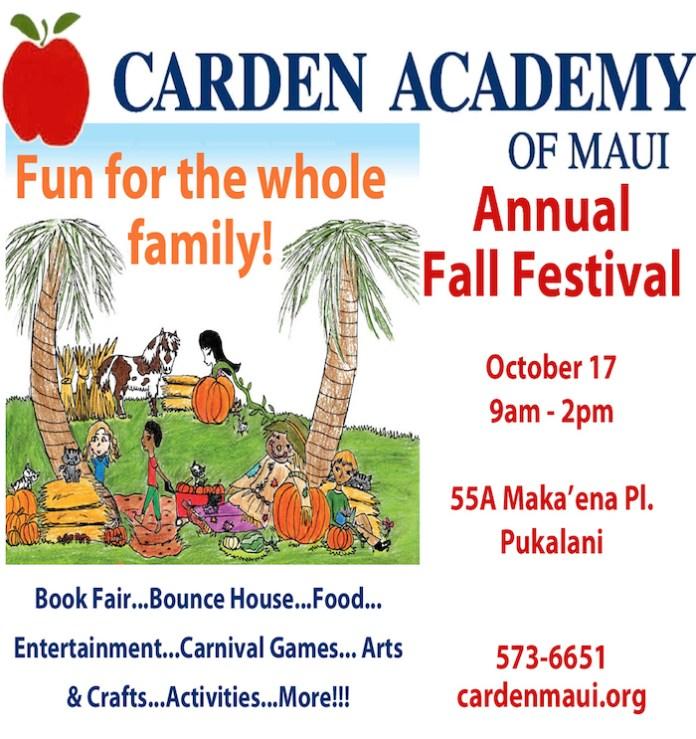 Carden Academy Fall Festival