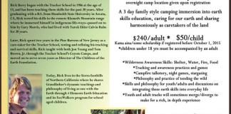 Earth Skills Family Camp