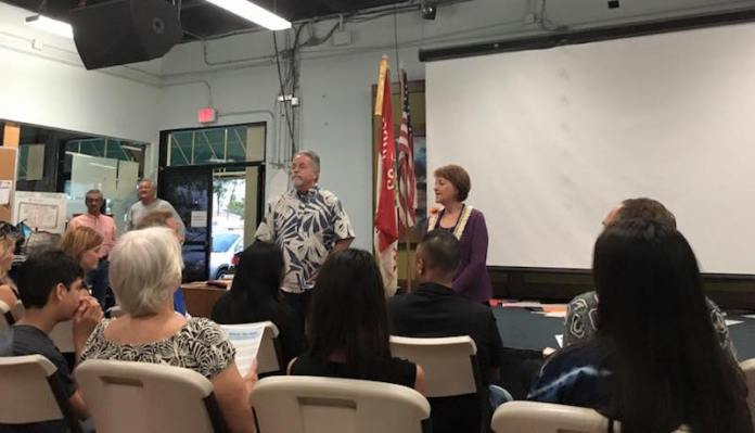Talk Story Meeting in Kihei with Roz baker Jan 28th 2016