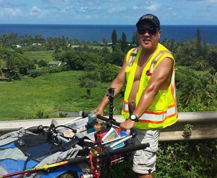 Maui man walk charity