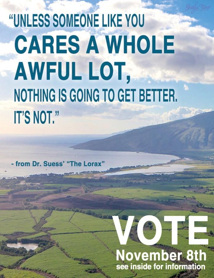 Maui vote 2016