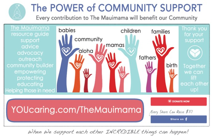 Mauimama crowd funder