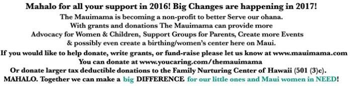 Mauimama non profit