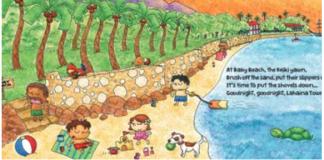 Children's book Maui Lahaina