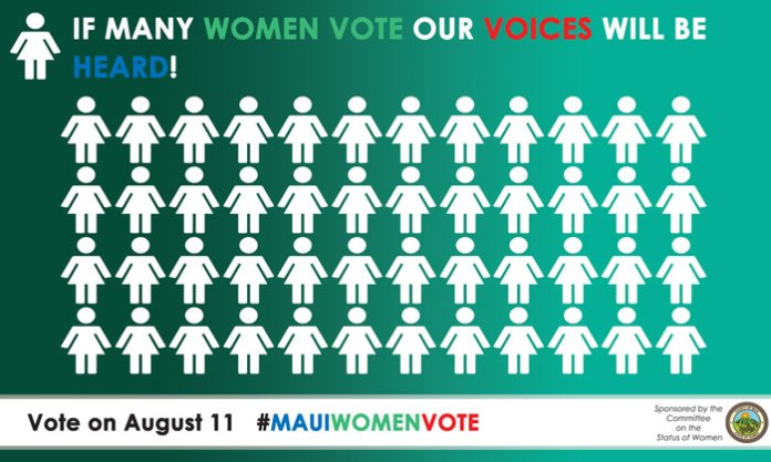 Vote Maui women