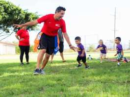 Keiki soccer classes Maui